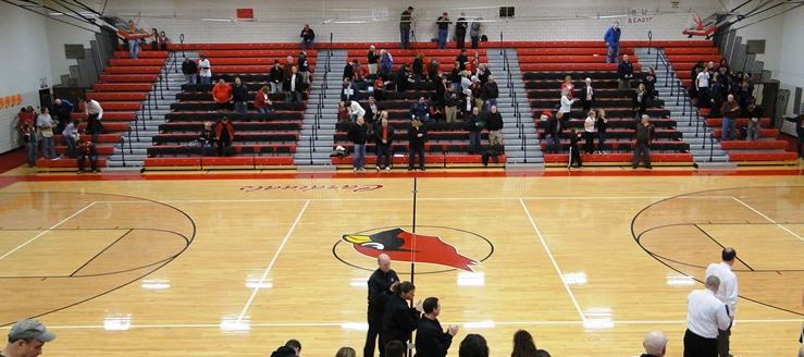 Canfield Cardinals Gymnasium Basketball 2012
