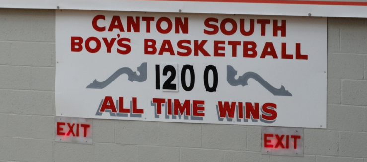 Canton South Wildcats Basketball 1200 All-Time Wins