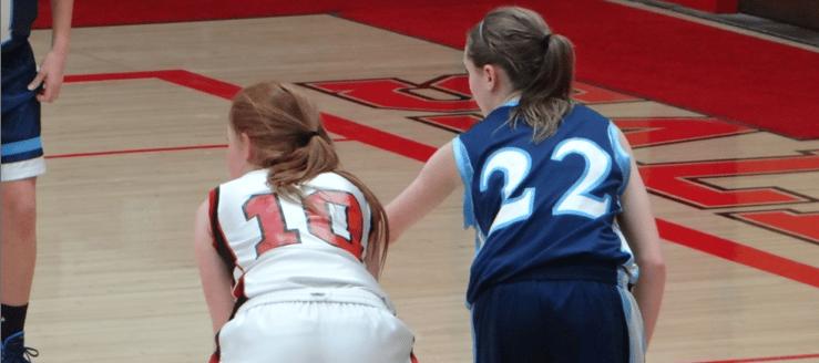 Danielle Walter Louisville Leopards Girls Basketball Vs. Salem Quakers