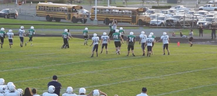 Drew Doerschuk Louisville Leopards Football Catch Vs. West Branch Warriors 2014