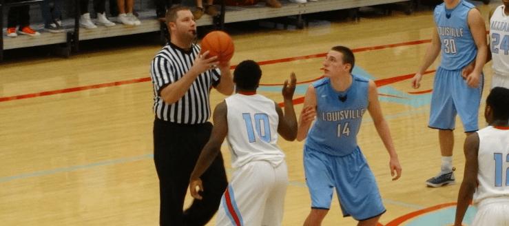 Drew Noble Louisville Leopards at Alliance Aviators Boys Basketball 2015