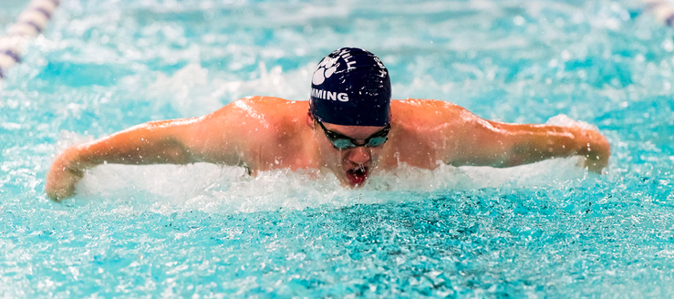 Louisville Leopards Boys Swimming 2014 Vs. St. Thomas Aquinas Knights