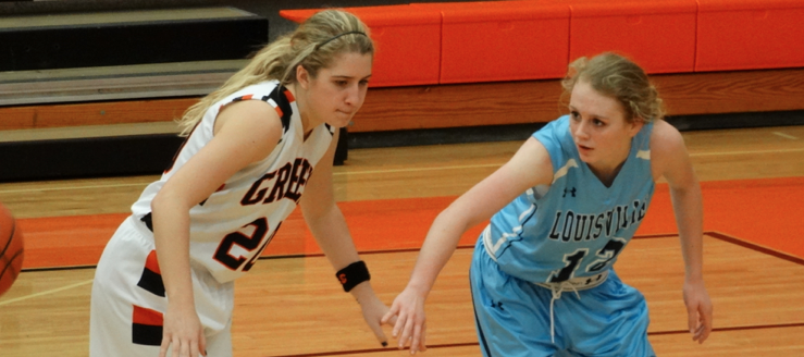 Sarah Lairson Louisville Leopards Vs. Green Bulldogs Girls Basketball 2015