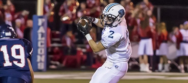 Brock Haren Louisville Leopards Football 2015 Highlights