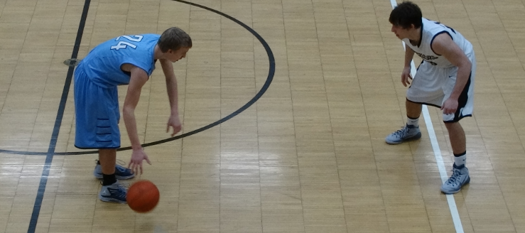 Brody Hahn Louisville Leopards at Carrollton Warriors Boys Basketball