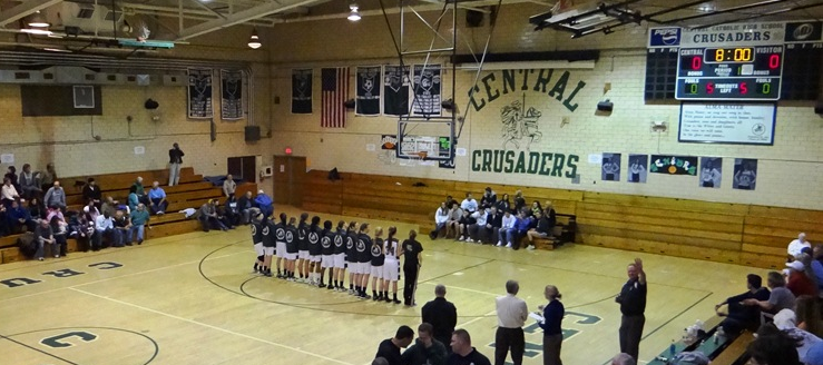 Canton Central Catholic Crusaders Old Gym Gymnasium before renovation