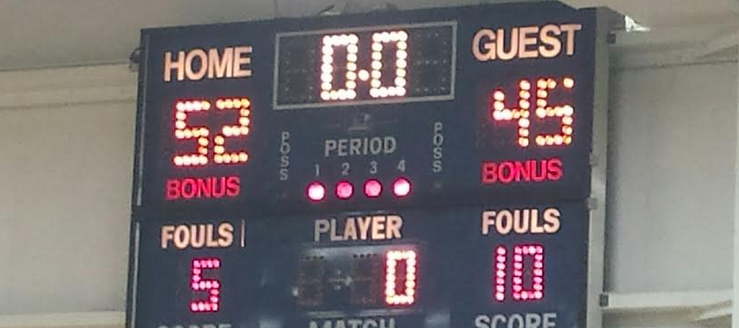Carrollton Warriors Bell-Herron Middle School Scoreboard