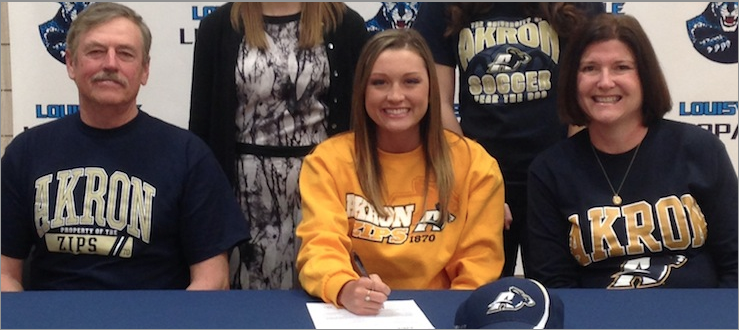 Rachel Baughman National Signing Day