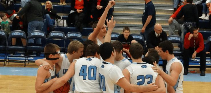Louisville Leopards Boys Varsity Basketball Vs. Minerva Lions 2015