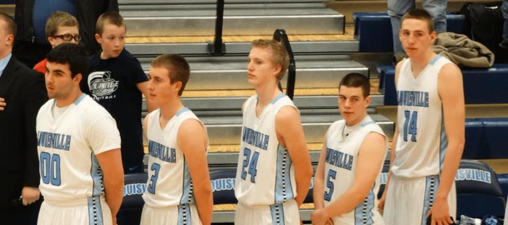Louisville Leopards Lineup Boys Basketball 2015 Vs. Barberton