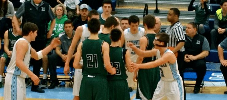Highland Hornets Boys Basketball Vs. Louisville Leopards 2015 Tournament