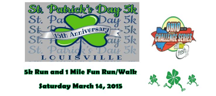 St. Patrick's Day 5K Fun Run:Walk