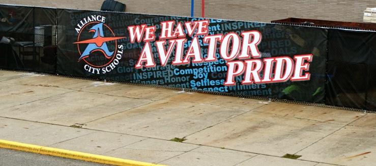 We Have Aviator Pride Banner Alliance Aviators