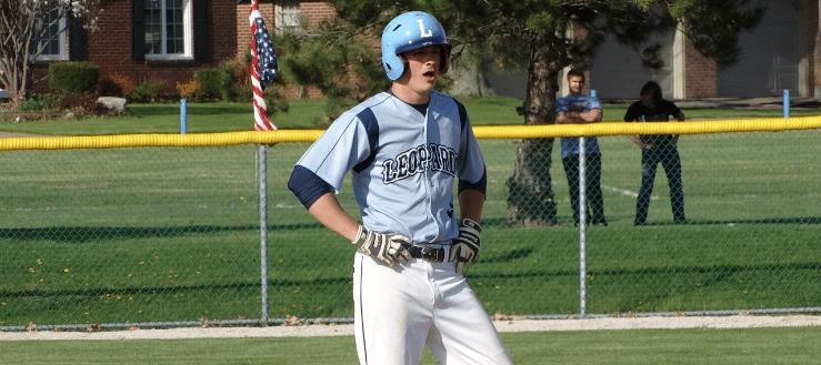 Jake Adams Louisville Leopards Vs. Salem Quakers Baseball