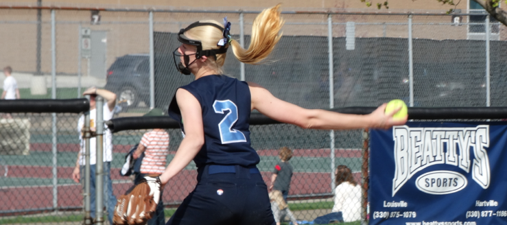 Kirsten Wharmby Louisville Leopards Softball 2015 Vs. Salem