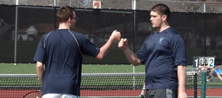 Kyle Robinson & Alex Hall Louisville Leopards Boys Tennis