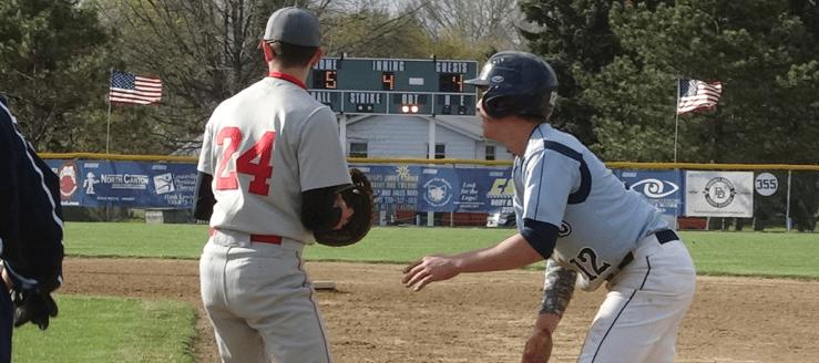 Joe Crank Louisville Leopards Vs. Canton South Wildcats 2015 Baseball