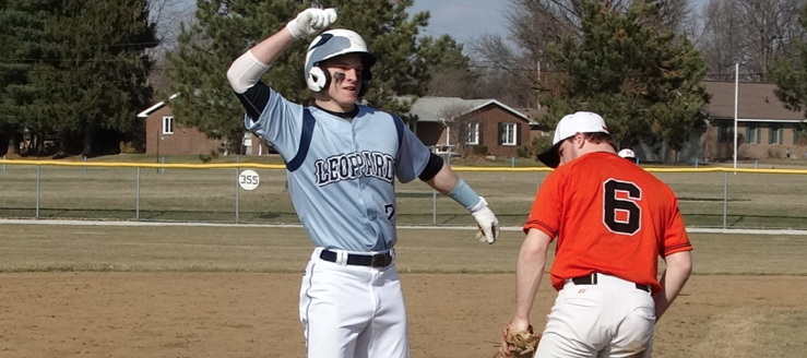 Tyler Adams Louisville Leopards Vs. Marlington Dukes Baseball 2015