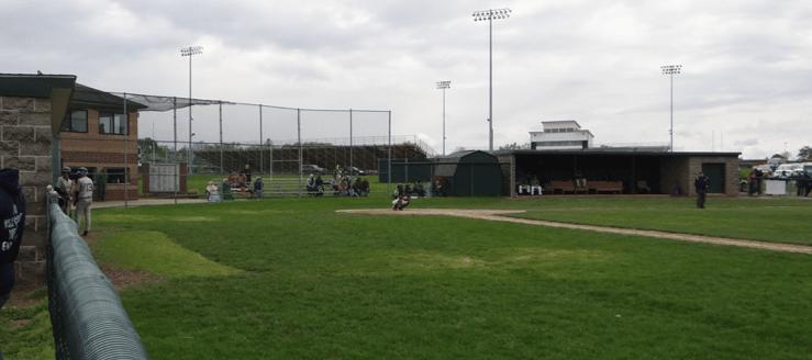 Beloit West Branch Warriors Baseball Field Stadium