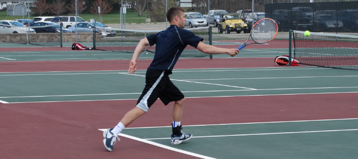 Jake Pukys Louisville Leopards Tennis 2015 Vs. Salem