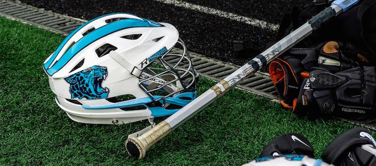 Louisville Leopards Lacrosse Helmet