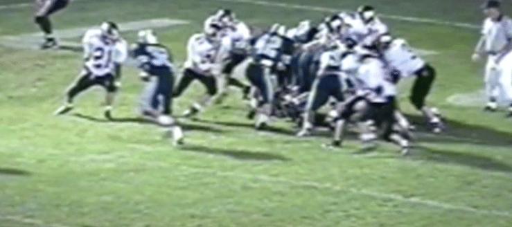 Jamie Elkins Louisville Leopards Vs. Marlington Dukes 1994 Football Highlights