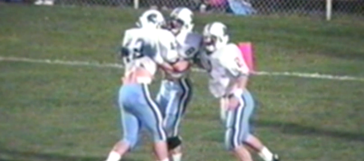 Jason Snyder Louisville Leopards Vs. Carrollton Warriors 1994 Football Highlights