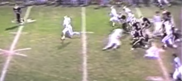 Dan Wilson Louisville Leopards Vs. Springfield Spartans 1994 Football Highlights