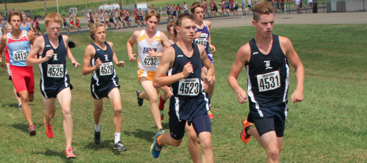Ben Tornow Louisville Leopards Cross Country OHSAA Preseason Invitational