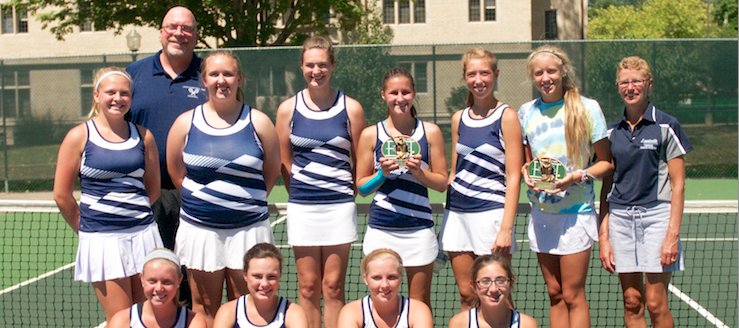 Louisville Leopards Girls Tennis Orrville Invitational Champions 2015