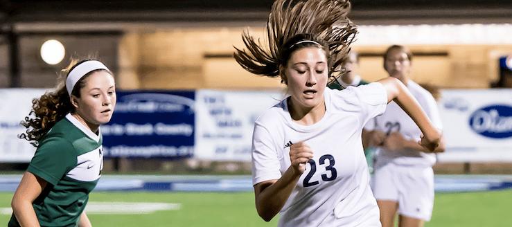 Hannah Baughman Louisville Lady Leopards Soccer 2015 Vs. West Branch