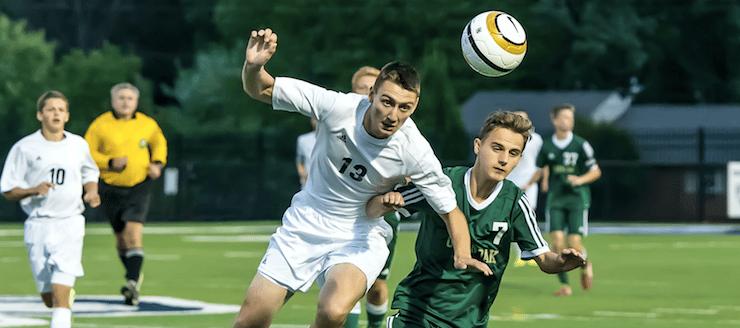 Derek Zeller Louisville Leopards Boys Soccer Vs. GlenOak Golden Eagles 2015