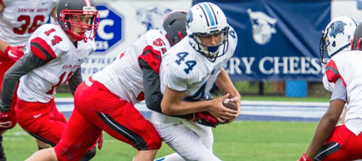 Ethan Bellew Louisville Leopards JV Football 2015