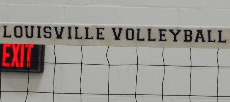 Louisville Leopards Volleyball Net