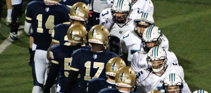 Archbishop Hoban Knights Vs. Louisville Leopards 2015 Playoff Football Highlights