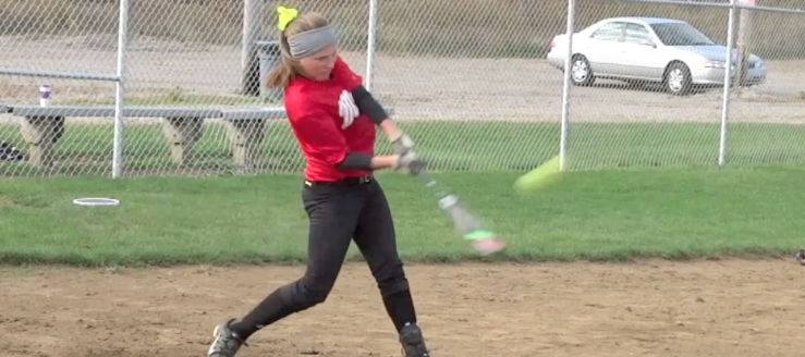 Diana Yunkin Softball Skils Video Jackson Polar Bears Maddogs18U