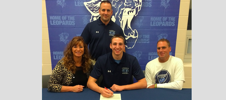 Drew Noble Signing Louisville Leopards Ashland University Eagles