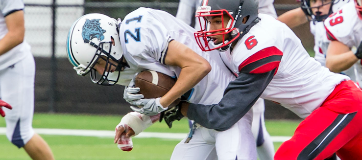 Andrew Cook 2015 Football Highlights Louisville Leopards