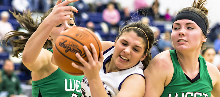 Grace Jackson Louisville Leopards Vs. West Branch Warriors Girls Basketball 2016
