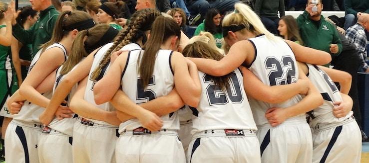 Louisville Leopards Girls Varsity Basketball 2016