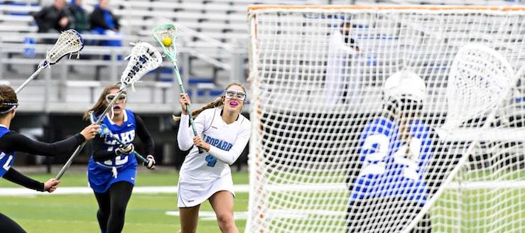 Alexa Oberster Louisville Leopards Lacrosse Vs. Lake Blue Streaks 2016