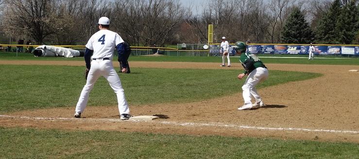 Jack Davis & Dylan Wayt Louisville Leopards Vs. GlenOak Golden Eagles JV Baseball 2016