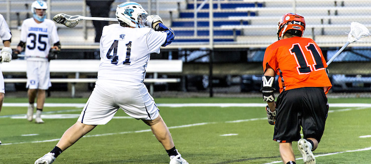 Matt Davide Louisville Leopards Boys Lacrosse 2016 Vs. Green Bulldogs