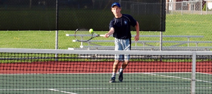 Nick Eneix Louisville Leopards Boys Tennis 2016