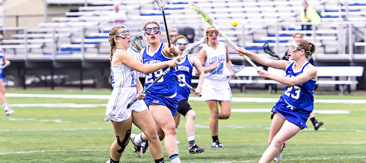 Mandy Wesely Game Winning Goal Louisville Leopards Vs. Gilmour Academy Lancers Girls Lacrosse