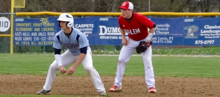 Tyler Adams Louisville Leopards Baseball Vs. Salem Quakers 2016
