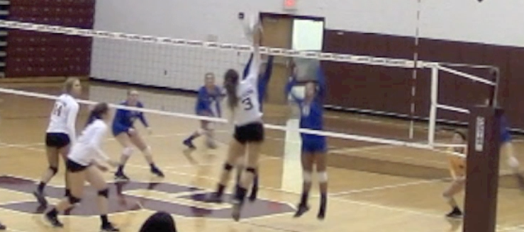 Brooke Fatheree Volleyball Highlights 2016 John Glenn Little Muskies