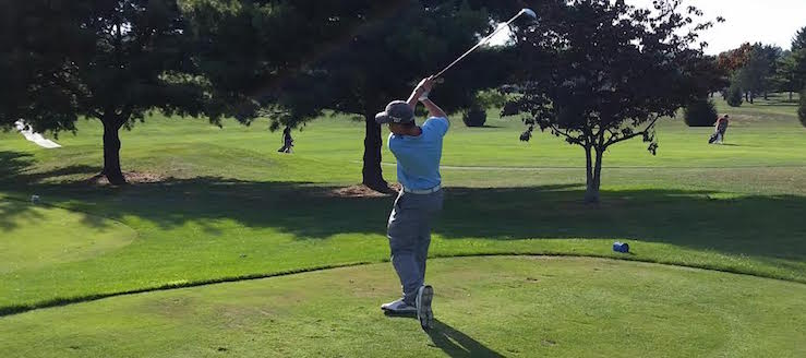 Caleb Prasco Louisville Leopards Boys Golf 2015