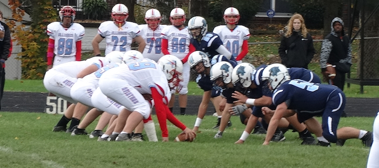 Louisville Leopards Vs. Alliance Aviators JV Football 2014