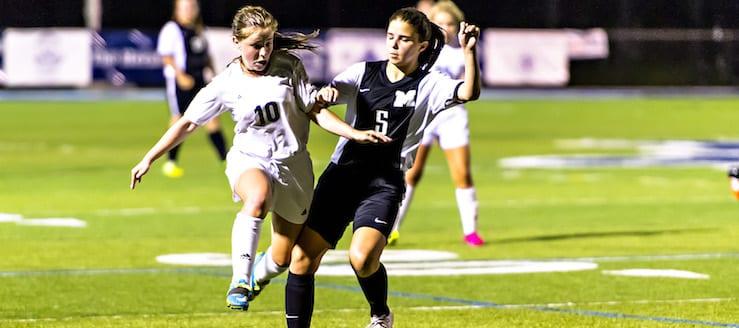 Maddie Berkebile Louisville Leopards Vs. Massillon Tigers Girls Soccer 2016
